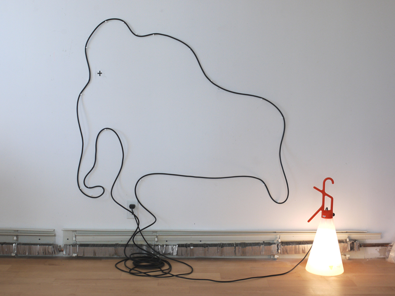 Mamouth, Electrical cable, lamp, 2010