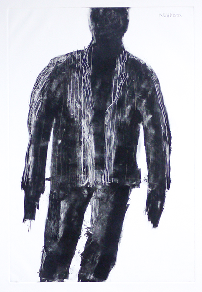 Man, 22x30 in, 2014