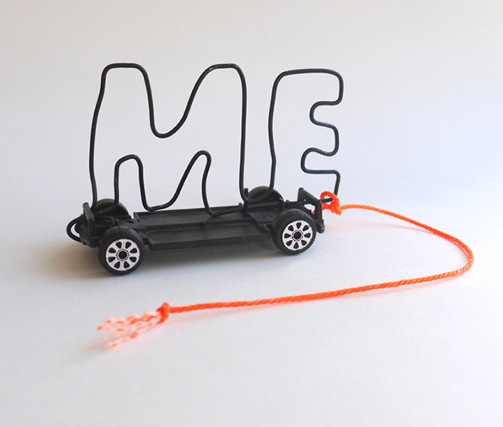 Me car, Mixed Media, 2010
