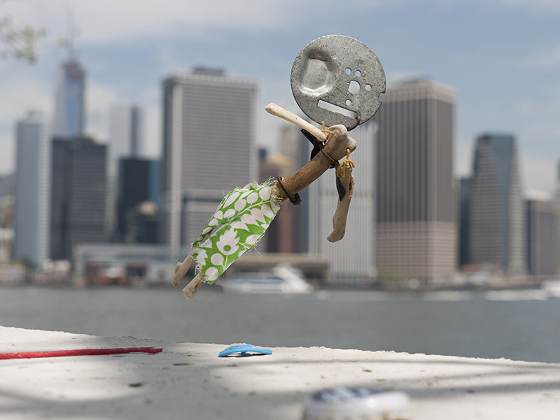 'Flying', Made with found objects on Governors Island, limited ed C-Print, 2013